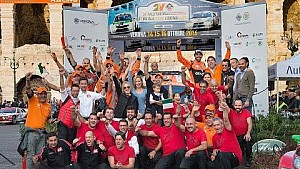 L'Orange1 Racing al Rally Due Valli