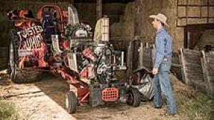 Daniel Ricciardo als Landwirt