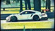 La Porsche 911 GTE 2017 en test à Sebring