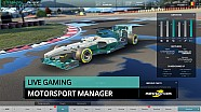 Le replay du live sur Motorsport Manager !