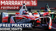 Marrakesh 2016 Free Practice Highlights - Formula E