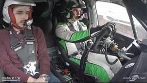 Un giorno da navigatore con Umberto Scandola e Skoda Motorsport Italia