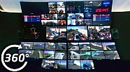 Formula E 360° Moments: Look Around The TV Gallery!