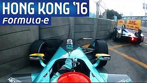 ePrix di Hong Kong: la gara dall'abitacolo