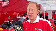 Rusty Wallace corre nel Ferrari Challenge