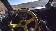 记录Tanner Foust 赛车生涯精彩片段的黄色方向盘