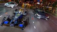 La Formula E regina nel buio di Las Vegas
