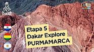 Etapa 5 - Dakar Explore: Purmamarca, la ciudad en el desierto - Dakar 2017