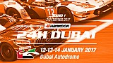 En vivo: 24 horas de Dubai 2017 - práctica de calificación / noche