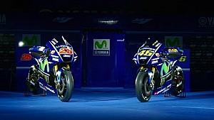 Présentation de l'équipe Movistar Yamaha MotoGP YZR-M1 2017