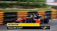 Interview de Callum Ilott à l'Autosport International 2017