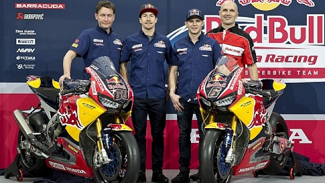 Red Bull Honda World Superbike Team - Hanger-7