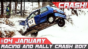 Semana 04 de enero de 2017 Race y Rally Crash compilación