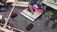 Time-lapse - the Red Bull Honda World Superbike Team launch