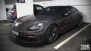 On the Road in the New Panamera 4S Diesel