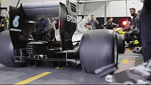 See it First: F1 Pit Stop with 2017 Tyres