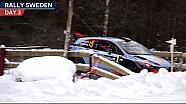 La 3e journée du Rallye de Suède de Hyundai
