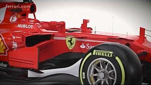 Stickering Ferrari F1 SF70H