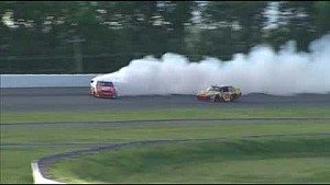Harvick vs. Logano, Pocono 2010