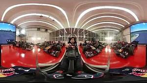 GP de Australia, Carlos Sainz 360º hotlap