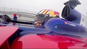 So fährt ein F1-Auto durch eine Kurve