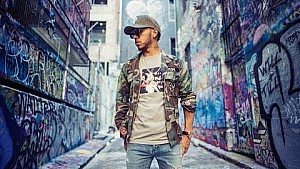 Lewis Hamilton en Melbourne, Australia 2017