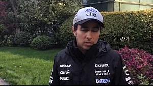 GP de China: Sergio Reporte