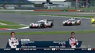 Best action: Lmp1 leader change at the final moment of 6 hours of Silverstone