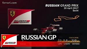 Прев'ю ГП Росії - Scuderia Ferrari 2017
