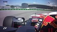 Rusya GP FP3 - Ricciardo Pist Dışına Çıktı