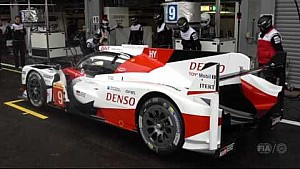 Toyota Gazoo racing - pit stop practice for WEC 6 hours of Spa-Francorchamps