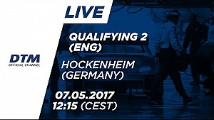 Live: Qualifying (Race 2) - DTM Hockenheim 2017