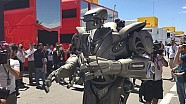 A Robot in the Paddock - Spanish GP - Scuderia Toro Rosso