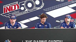 AJ Foyt Racing day 4 Indy 500 news conference