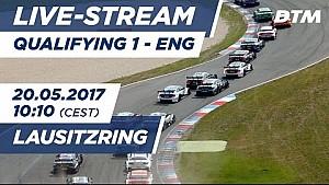 Live: Qualifying (Race 1) - DTM Lausitzring 2017