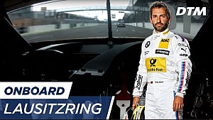DTM Lausitzring 2017 - Timo Glock (BMW M4 DTM) - Re-live onboard (Race 1)