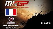 Los mejores momentos del GP de Francia de MXGP 2017