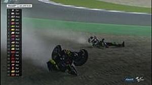 Zarco terjatuh saat pimpin balapan di GP Qatar