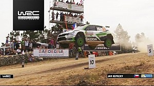 Rallye Sardinien: Highlights, WRC2