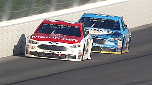 Blaney breaks down last two laps of his Pocono win