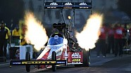 Doug Kalitta powers to the top on friday in Bristol