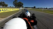 Formula Vee crash op Barbagallo