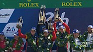 24h Le Mans: Podium - GTE-Am