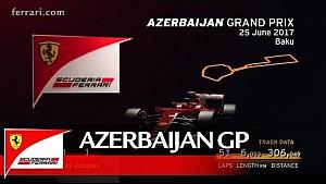 Grand Prix de Azerbaiyán, previo de Scuderia Ferrari 2017