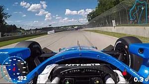 IndyCar-Helmkamera in Elkhart Lake