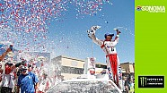 Harvick celebrates first win of the season at Sonoma