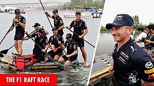 La course de radeaux de Montréal en vidéo avec Red Bull