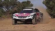 Peugeot 3008DKR Maxi - Lansman