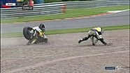 Kecelakaan Luthi di Moto2 Sachsenring