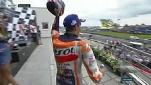 Marquez meloncat ke puncak podium Sachsenring